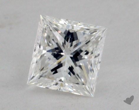 1.24 Carat E-SI1 Ideal Cut Princess Diamond