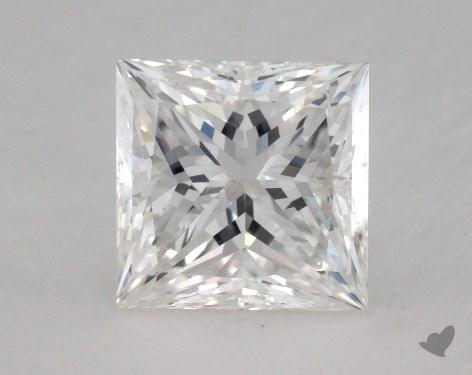1.55 Carat F-SI2 Ideal Cut Princess Diamond