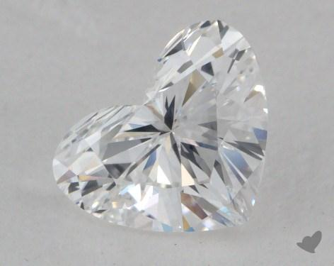 1.04 Carat D-SI2 Heart Cut Diamond 