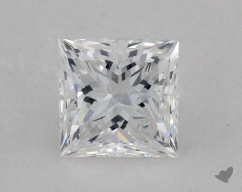 0.82 Carat F-VVS2 Ideal Cut Princess Diamond