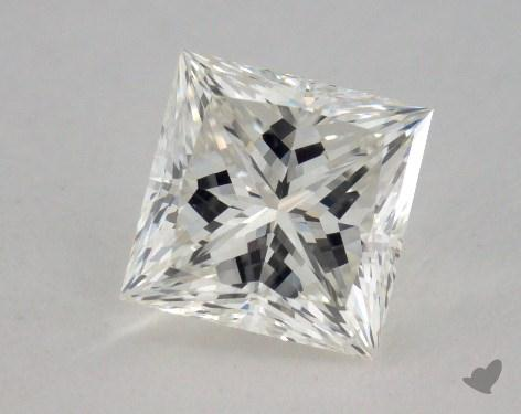 1.04 Carat I-SI1 Ideal Cut Princess Diamond