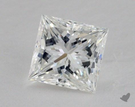 1.53 Carat F-VVS1 Ideal Cut Princess Diamond