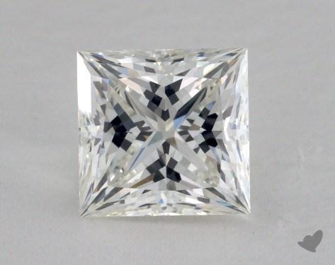1.69 Carat H-VVS2 Ideal Cut Princess Diamond