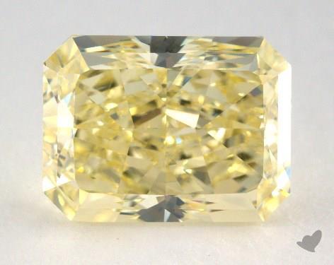 4.11 Carat fancy yellow-VS2 Radiant Cut Diamond