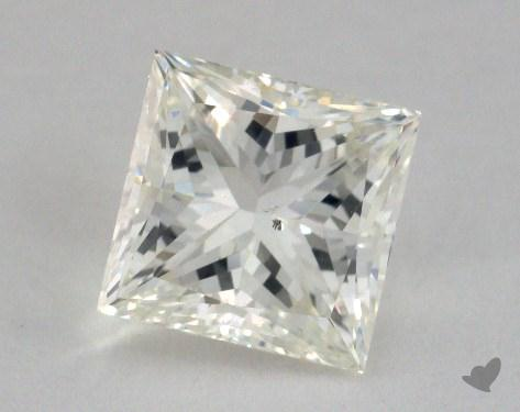 2.01 Carat J-SI1 Princess Cut Diamond