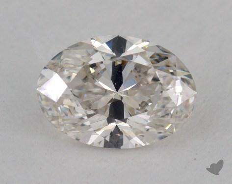 0.81 Carat H-VVS2 Oval Cut  Diamond