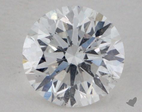 0.71 Carat E-SI2 Very Good Cut Round Diamond