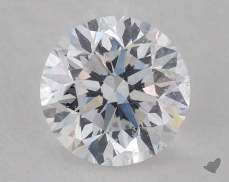 0.81 Carat D-SI1 Good Cut Round Diamond
