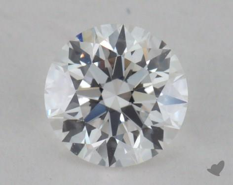 0.55 Carat F-VVS1 Excellent Cut Round Diamond