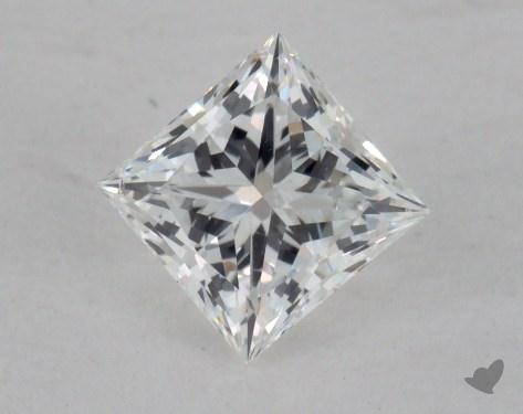 0.65 Carat E-VS2 Ideal Cut Princess Diamond