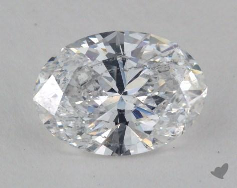 2.07 Carat E-SI2 Oval Cut Diamond