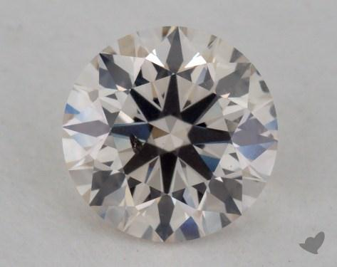 0.72 Carat J-I1 Excellent Cut Round Diamond