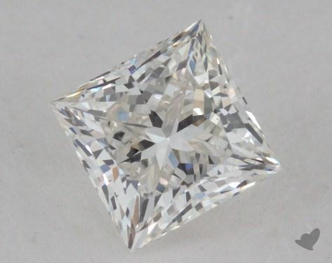 1.22 Carat H-VS2 Ideal Cut Princess Diamond