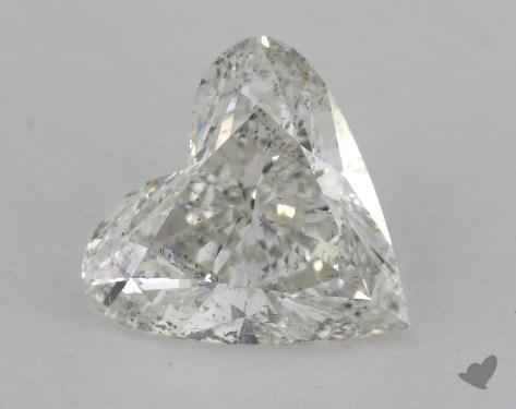 2.50 Carat G-SI2 Heart Shape Diamond