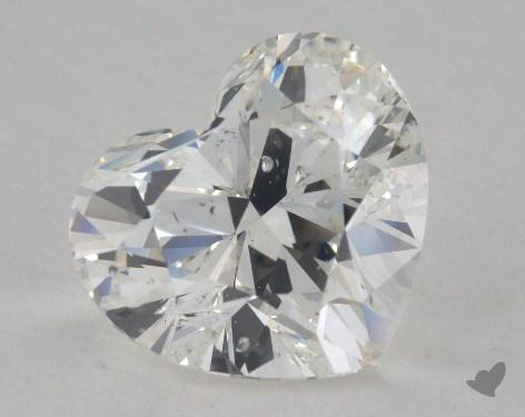 2.50 Carat H-SI2 Heart Cut Diamond