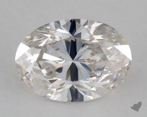 1.56 Carat H-VVS2 Oval Cut Diamond