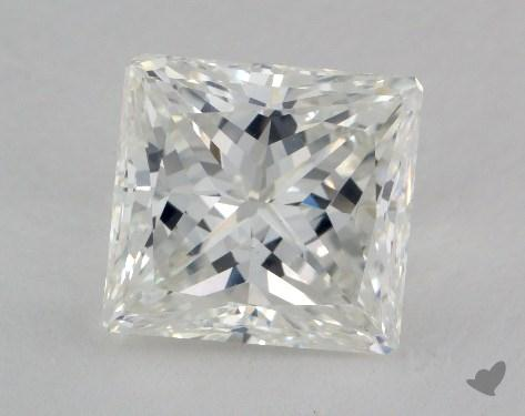 5.19 Carat H-SI1 Very Good Cut Princess Diamond