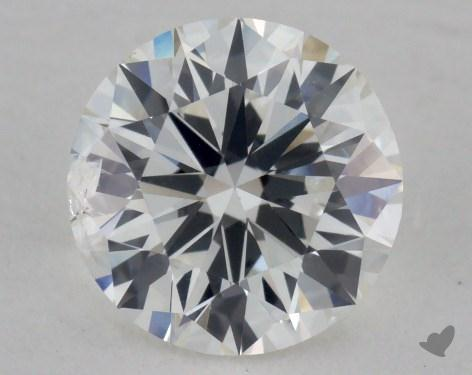 1.07 Carat G-SI2 Ideal Cut Round Diamond