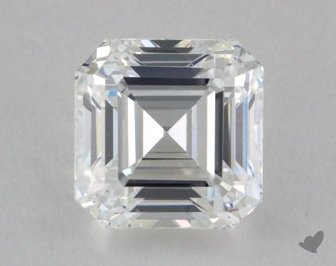 1.76 Carat F-VS1 Square Emerald Cut Diamond