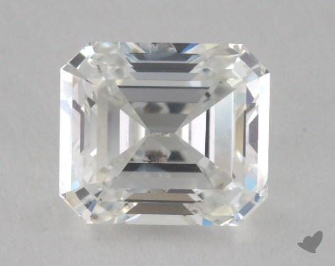 1.57 Carat G-SI2 Emerald Cut Diamond