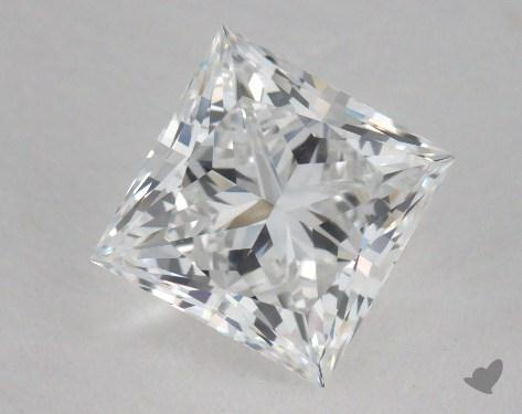 1.95 Carat D-IF Princess Cut Diamond 