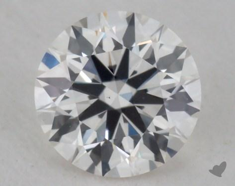 0.55 Carat H-VS1 Excellent Cut Round Diamond