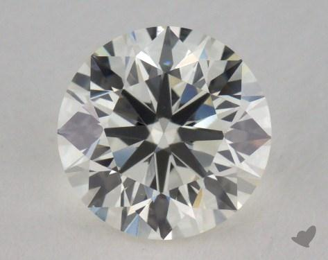 0.90 Carat K-VS1 Very Good Cut Round Diamond