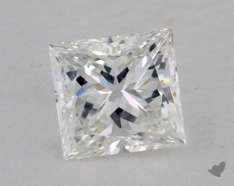 1.46 Carat E-VS1 Ideal Cut Princess Diamond