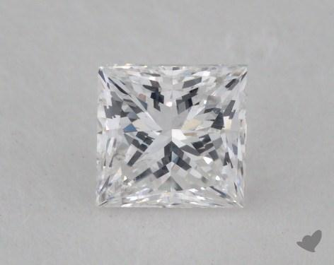 0.54 Carat D-SI2 Princess Cut  Diamond