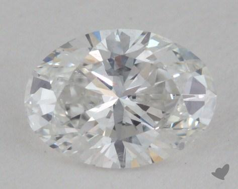 0.51 Carat E-SI2 Oval Cut Diamond