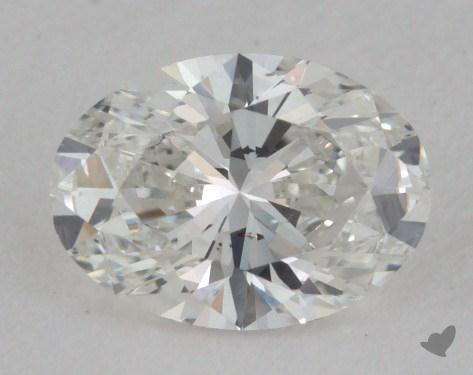 0.51 Carat H-VS2 Oval Cut  Diamond