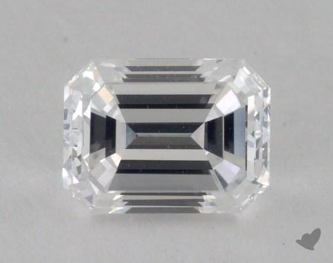 0.83 Carat D-VS1 Emerald Cut Diamond