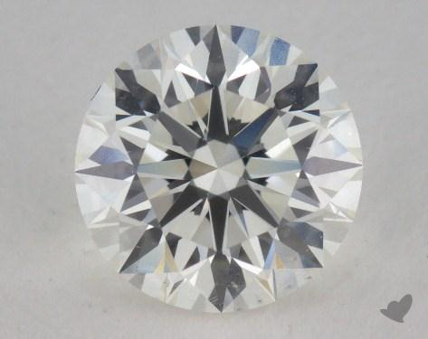 1.02 Carat I-SI1 Excellent Cut Round Diamond
