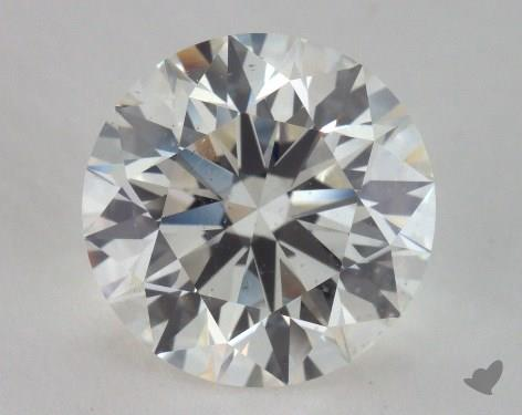 3.02 Carat I-SI1 Excellent Cut Round Diamond