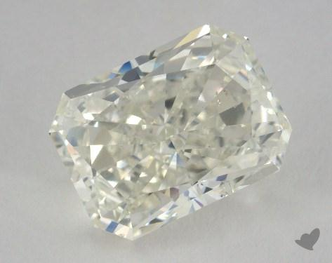 5.04 Carat J-SI1 Radiant Cut Diamond