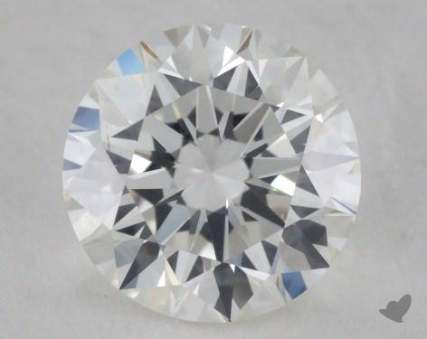 1.01 Carat H-SI1 Excellent Cut Round Diamond