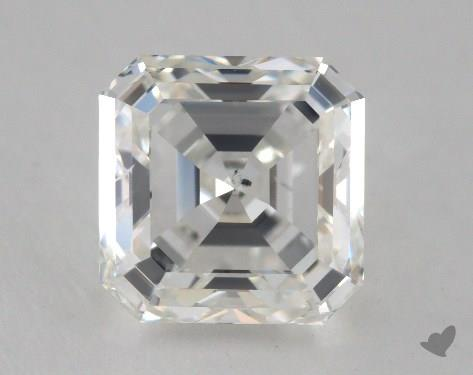 2.01 Carat H-SI2 Square Emerald Cut Diamond