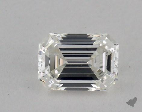 0.50 Carat H-VVS2 Emerald Cut Diamond