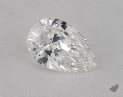 0.55 Carat F-SI1 Pear Shape Diamond