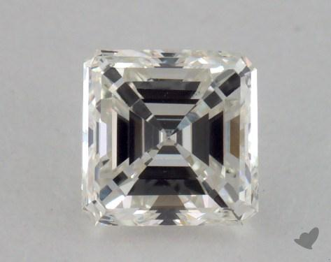 0.51 Carat H-VVS2 Square Emerald Cut Diamond