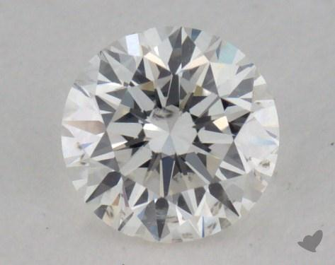 0.26 Carat G-I1 Very Good Cut Round Diamond