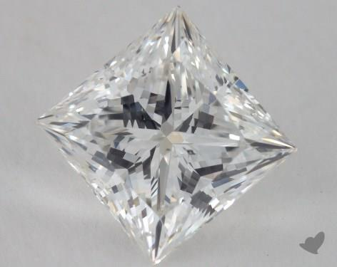 2.00 Carat F-SI1 Ideal Cut Princess Diamond