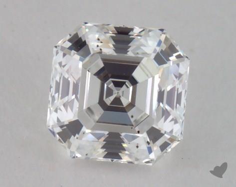 1.05 Carat E-SI1 Asscher Cut Diamond