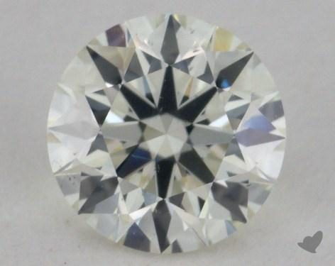 0.72 Carat K-VS2 Excellent Cut Round Diamond
