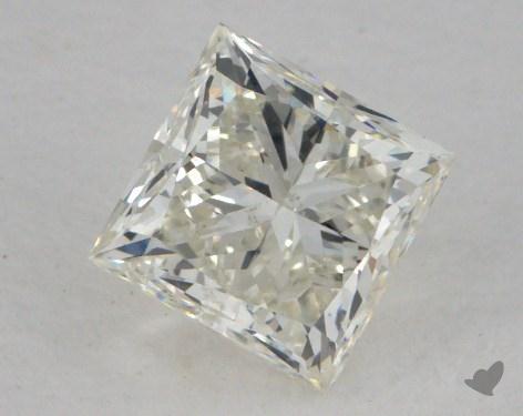 1.00 Carat J-SI1 Fair Cut Princess Diamond