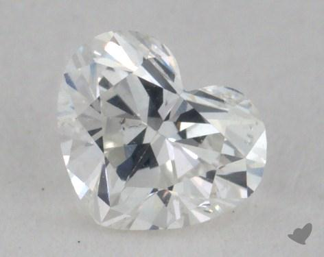 0.31 Carat F-SI1 Heart Shape Diamond