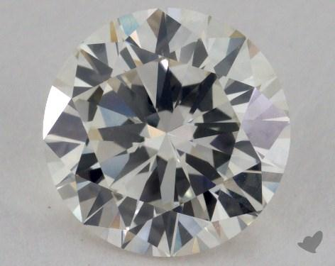 1.54 Carat J-VS1 Very Good Cut Round Diamond
