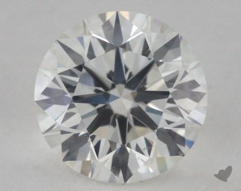 1.71 Carat I-SI1 Excellent Cut Round Diamond