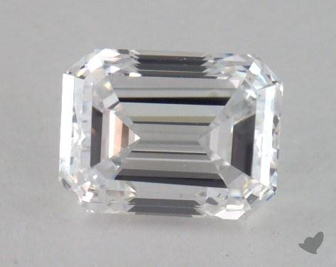 0.70 Carat D-SI1 Emerald Cut Diamond
