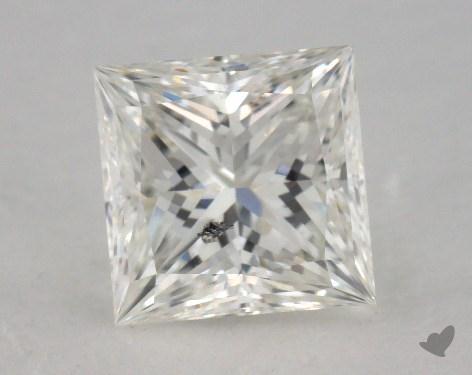 1.03 Carat H-SI2 Ideal Cut Princess Diamond